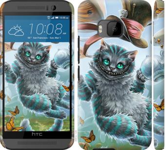 Чехол на HTC One M9 Чеширский кот 2