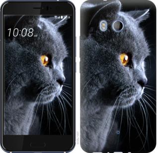 Чехол на HTC U11 Красивый кот