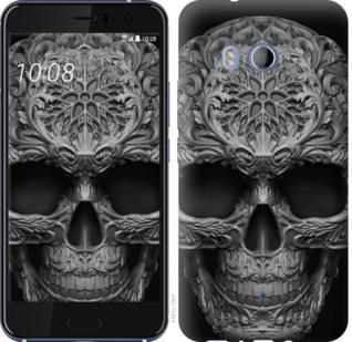 Чехол на HTC U11 skull-ornament