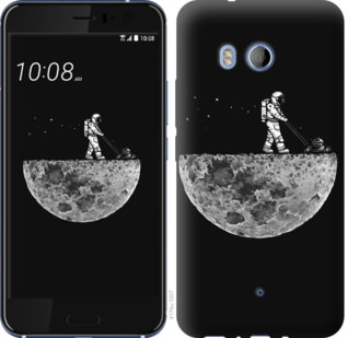 Чехол на HTC U11 Moon in dark