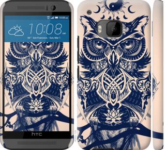 Чехол на HTC One M9 Узорчатая сова