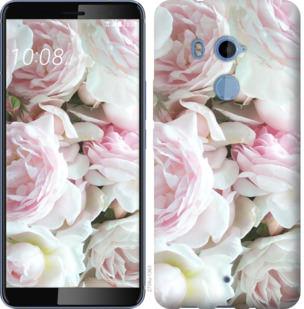 Чехол на HTC U11 Plus Пионы v2