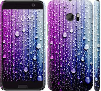 Чехол на HTC 10 Капли воды