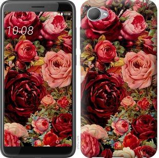 Чехол на HTC Desire 12 Цветущие розы