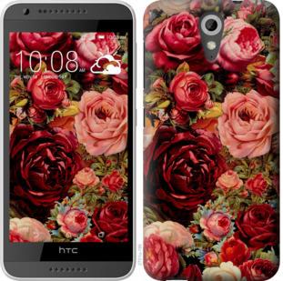 Чехол на HTC Desire 620G Цветущие розы