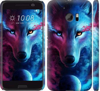 Чехол на HTC 10 Арт-волк