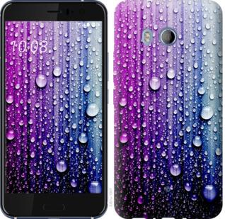 Чехол на HTC U11 Капли воды