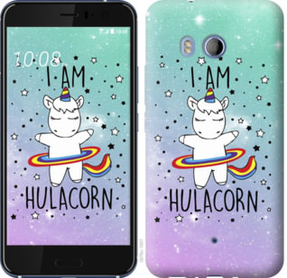 Чехол на HTC U11 Im hulacorn