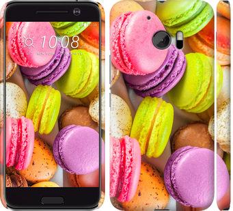 Чехол на HTC 10 Макаруны
