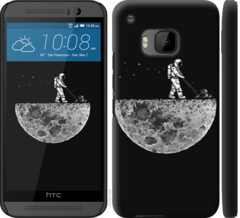 Чехол на HTC One M9 Moon in dark