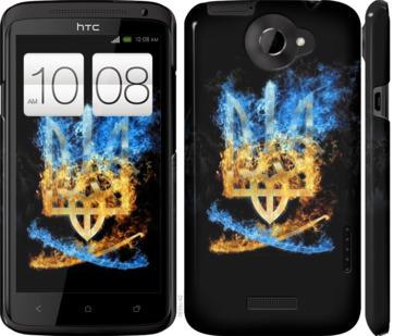 Чехол на HTC One X Герб