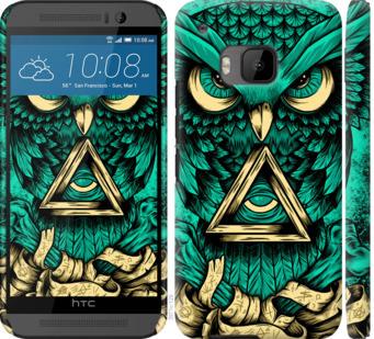 Чехол на HTC One M9 Сова Арт-тату