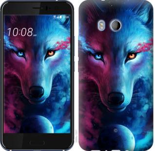 Чехол на HTC U11 Арт-волк