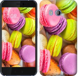 Чехол на HTC U11 Макаруны