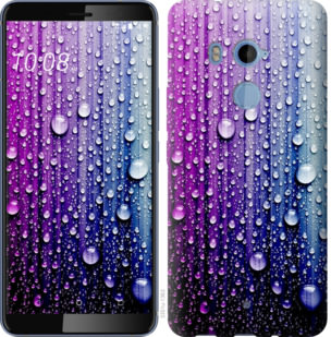 Чехол на HTC U11 Plus Капли воды
