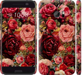 Чехол на HTC 10 Цветущие розы