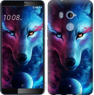 Чехол на HTC U11 Plus Арт-волк