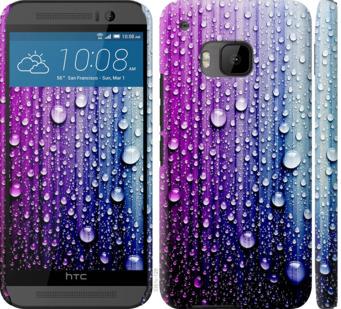 Чехол на HTC One M9 Капли воды