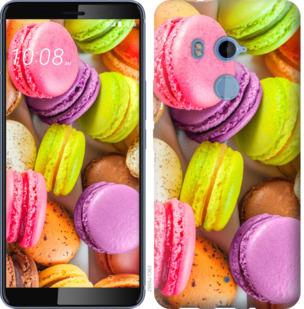 Чехол на HTC U11 Plus Макаруны