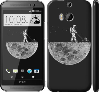 Чехол на HTC One M8 Moon in dark