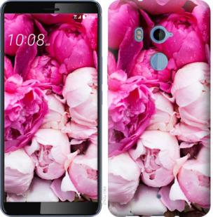 Чехол на HTC U11 Plus Розовые пионы