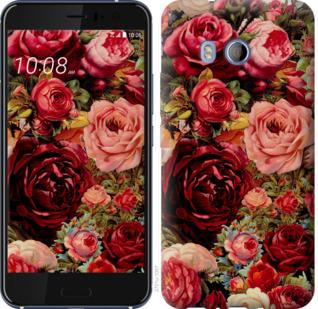 Чехол на HTC U11 Цветущие розы