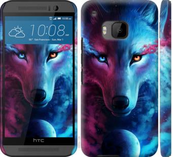 Чехол на HTC One M9 Арт-волк