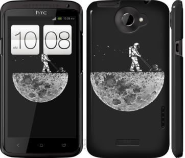 Чехол на HTC One X Moon in dark