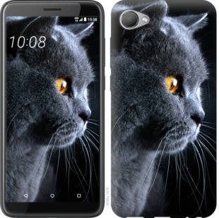 Чехол на HTC Desire 12 Красивый кот