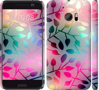 Чехол на HTC 10 Листья