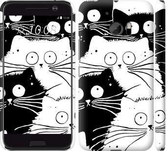 Чехол на HTC 10 Коты v2