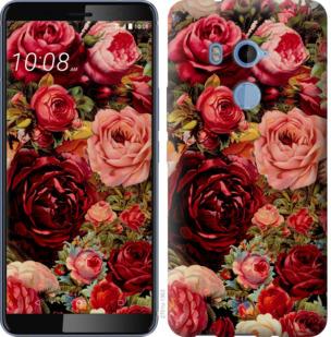 Чехол на HTC U11 Plus Цветущие розы