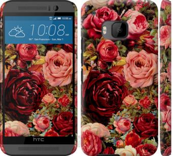 Чехол на HTC One M9 Цветущие розы