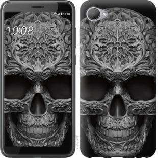 Чехол на HTC Desire 12 skull-ornament