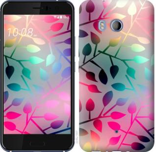 Чехол на HTC U11 Листья
