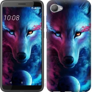 Чехол на HTC Desire 12 Арт-волк