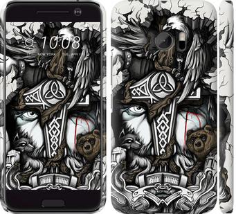 Чехол на HTC 10 Тату Викинг