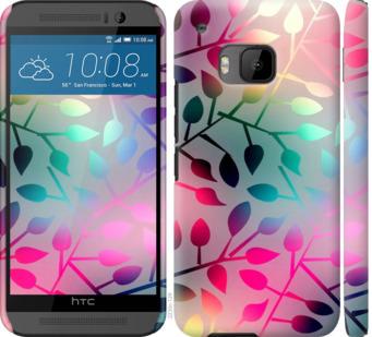Чехол на HTC One M9 Листья