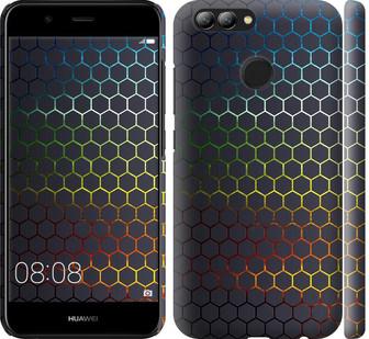 Чехол на Huawei Nova 2 Переливающиеся соты