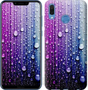 Чехол на Huawei Honor Play Капли воды
