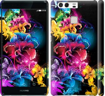 Чехол на Huawei P9 Абстрактные цветы