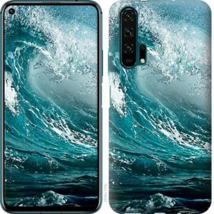 Чехол на Huawei Honor 20 Pro Морская волна