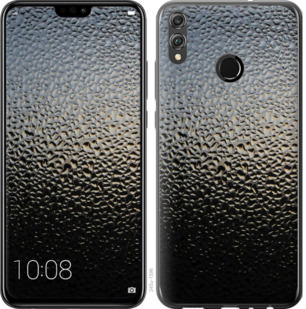 Чехол на Huawei Honor 8X Мокрое стекло