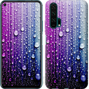 Чехол на Huawei Honor 20 Pro Капли воды