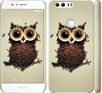 Чехол на Huawei Honor 8 Сова из кофе