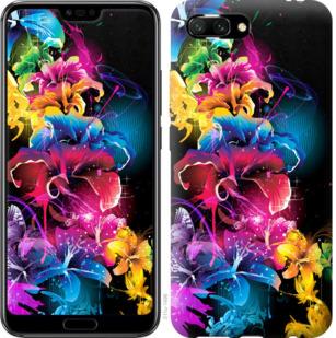 Чехол на Huawei Honor 10 Абстрактные цветы