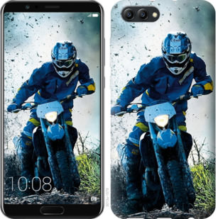 Чехол на Huawei Honor V10 / View 10 Мотокросс