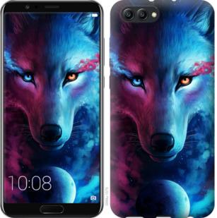 Чехол на Huawei Honor V10 / View 10 Арт-волк
