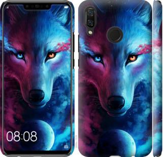 Чехол на Huawei Nova 3 Арт-волк