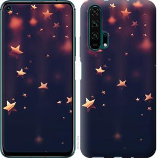 Чехол на Huawei Honor 20 Pro Падающие звезды